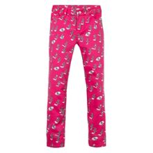 Kenzo Girls Cactus Print Satin Stretch Trousers