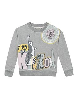 Girls Urban Jungle Sweatshirt
