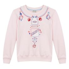 Kenzo Girls Printed Necklace Sweatshirt