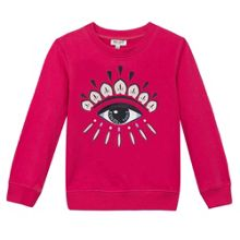 Kenzo Girls Embroidered Eye Sweatshirt