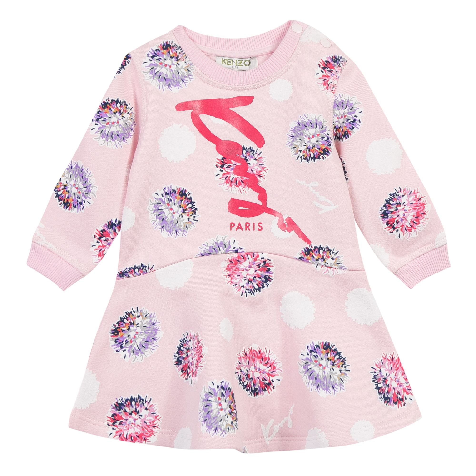 Click to view product details and reviews for Kenzo Baby Girls Jungle Dress Pink.