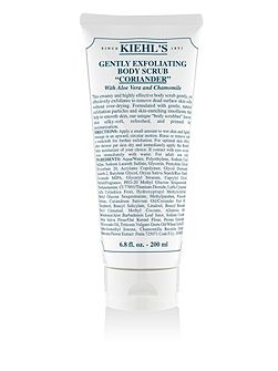 Gentle Exfoliating Body Scrub- Coriander 200ml