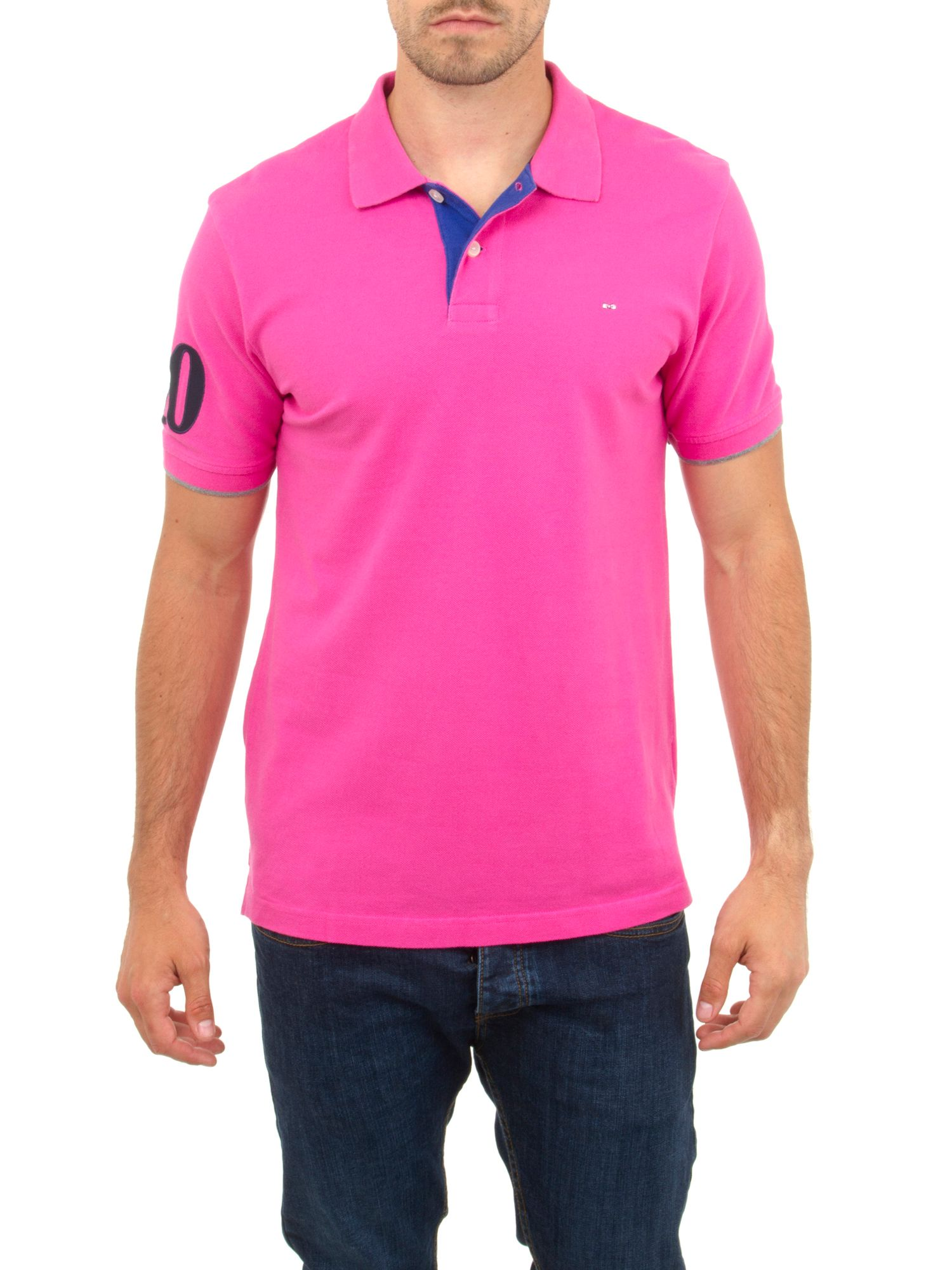 Tricolore polo shirt