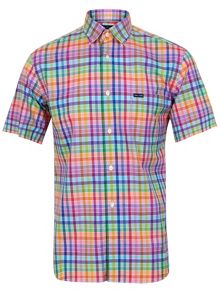 Zephir car checked shirt