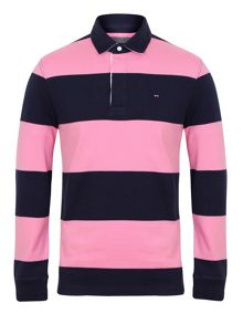 Belge striped rugby shirt
