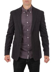 Stad plain two-button jacket