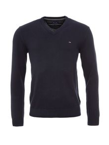 Eden Park V-Neck Cotton Sweater