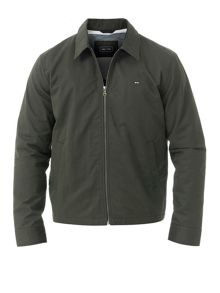 Eden Park Plain zip-up jacket