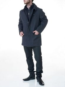 Casual town wool jacket
