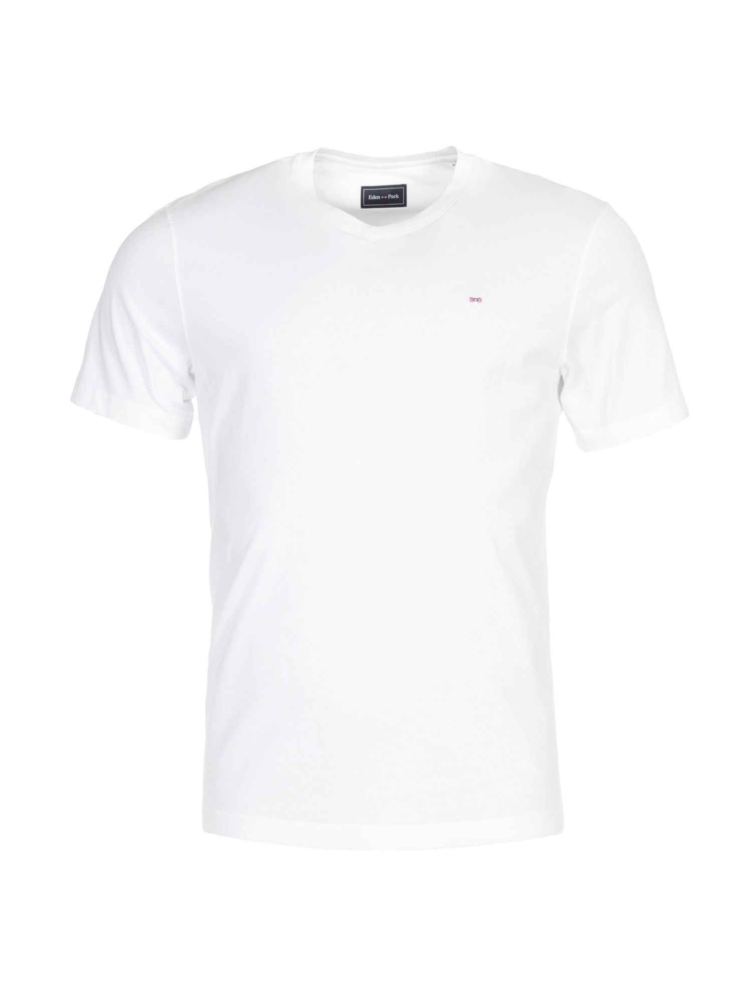 Men's Eden Park Classic Cotton T-Shirt, White