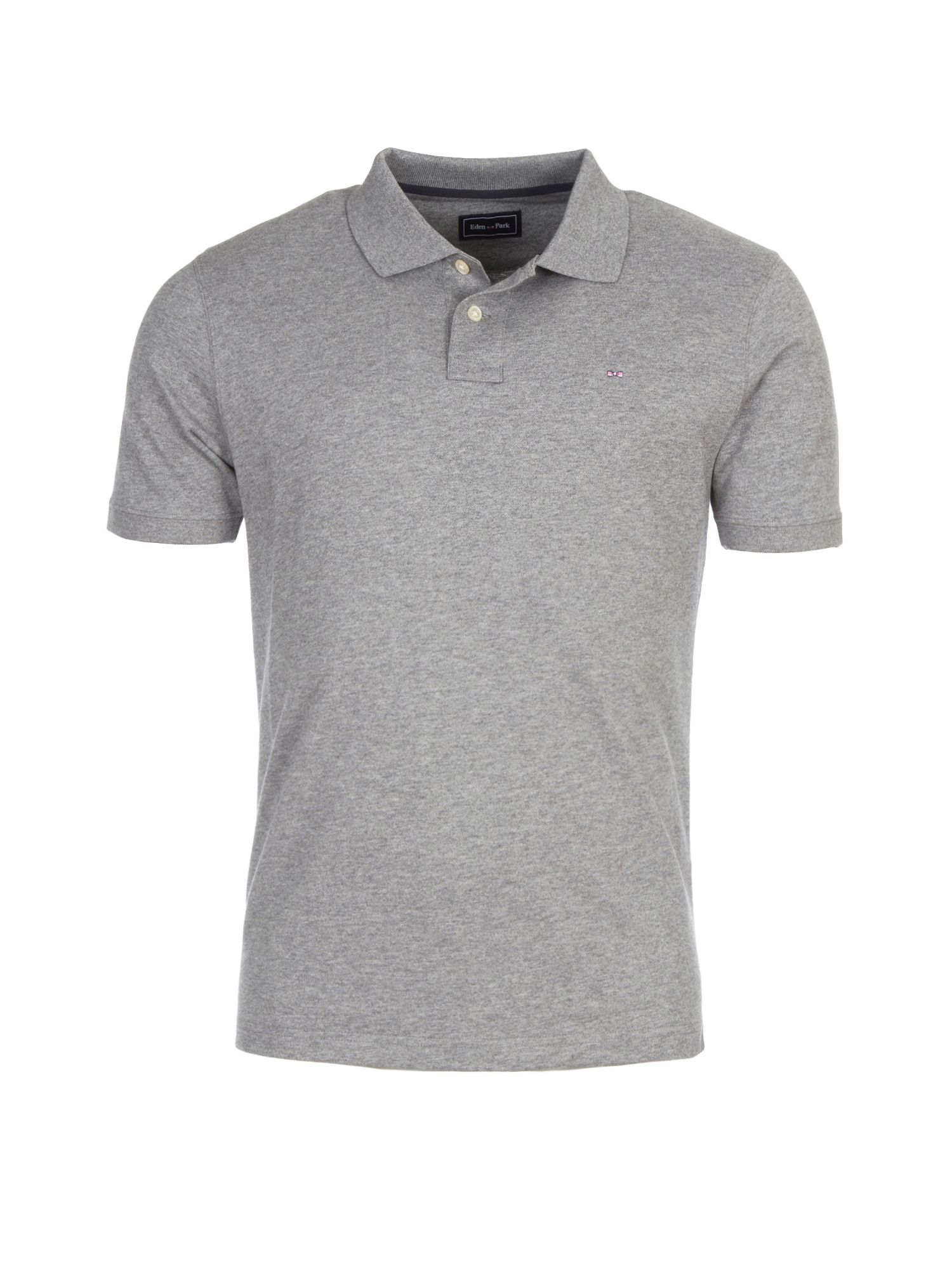 Men's Eden Park Polo Basic Stretch, Grey