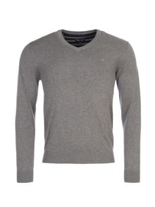 Eden Park Cotton V-Neck Jumper