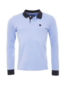 Eden Park Cotton Polo Shirt With Contrast Trims