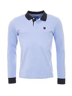 Cotton Polo Shirt With Contrast Trims