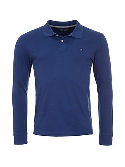 Cotton Blend Polo Shirt