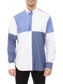 Eden Park Block Cotton Shirt