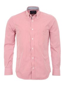 Eden Park Two-tone Cotton Shirt