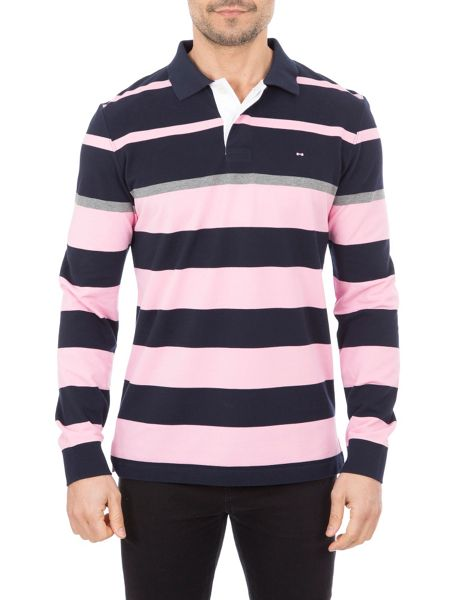 Eden Park Striped Cotton Rugby Shirt