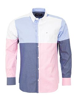 Block Cotton Shirt
