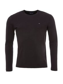Eden Park Long-sleeved Cotton T-Shirt