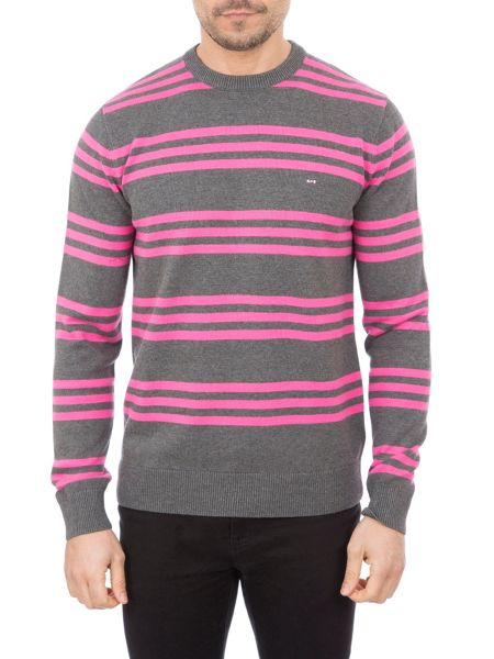 Eden Park Two-tone Cotton Sweater