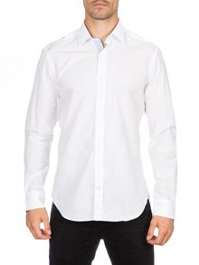 Eden Park Slim Fit Print Cotton Shirt