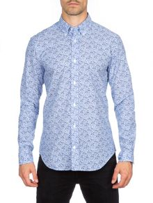 Eden Park Floral Cotton Shirt