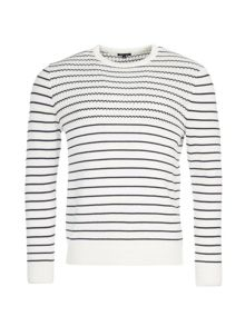 Eden Park Striped Cotton Jumper