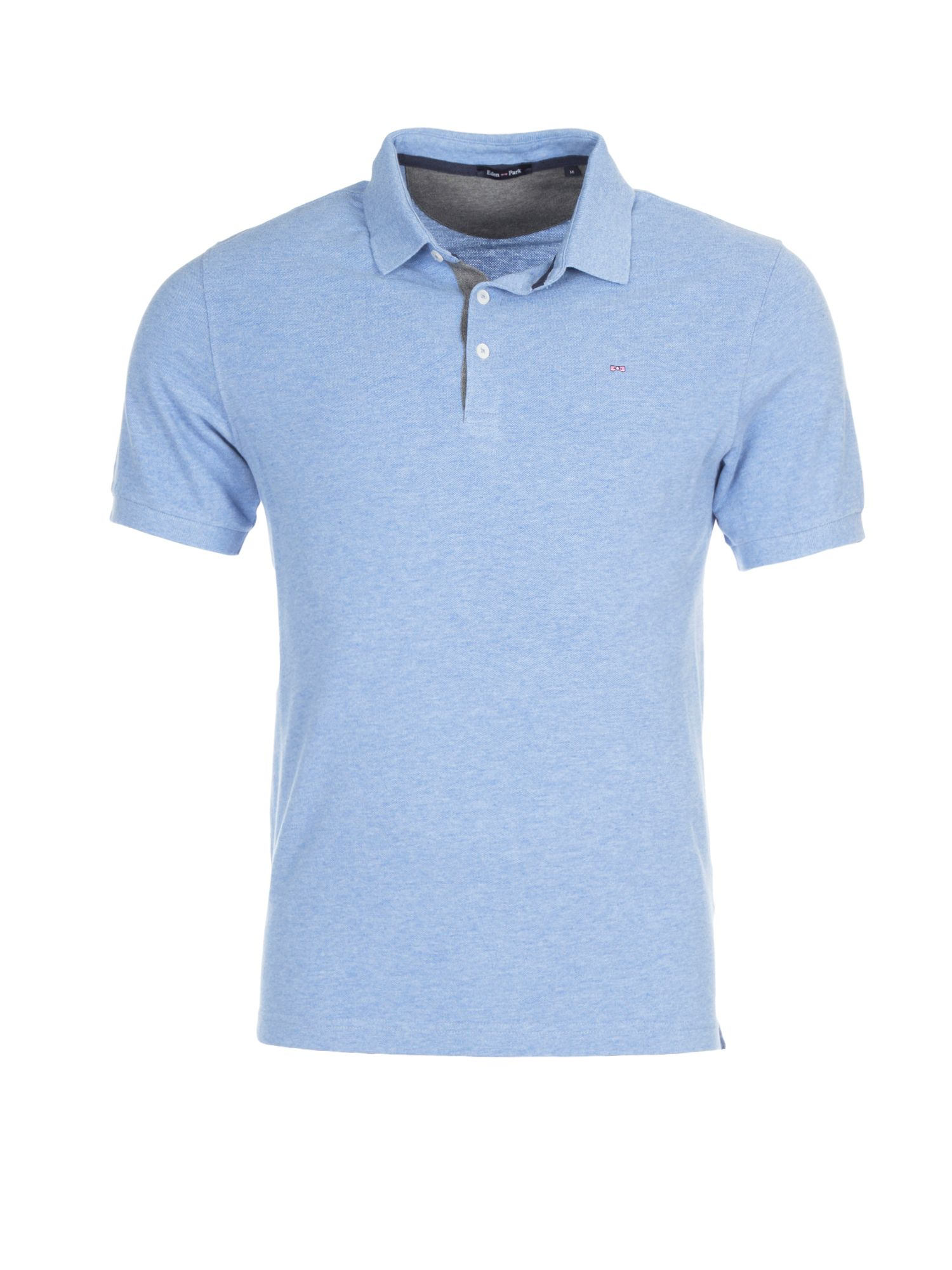 Men's Eden Park Cotton Polo Shirt, Blue