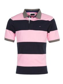 Eden Park Striped Polo Shirt