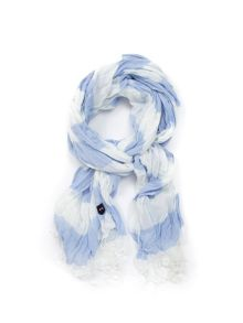 Eden Park Striped Cotton Scarf