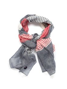 Eden Park Striped Scarf