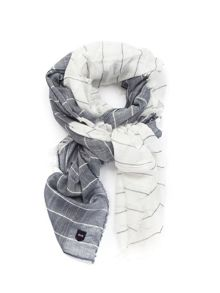 Eden Park Two Tone Stripe Scarf