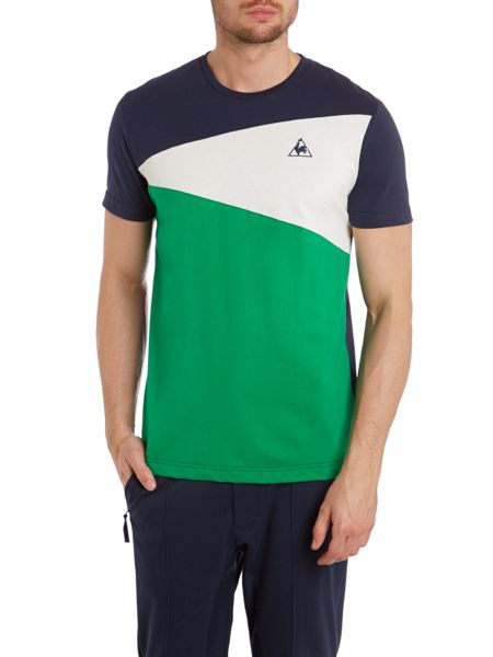 Le Coq Sportif Tricolores soulor short sleeve t-shirt