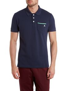 Tricolores pavot short sleeve polo