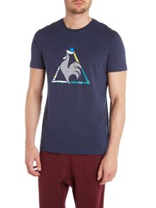 Le Coq Sportif Graphic n°6 bicycle short sleeve t-shirt