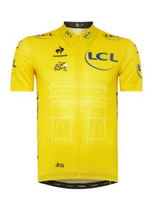 Le Coq Sportif Tour De France 2015 Replica Yellow Cycling Jersey