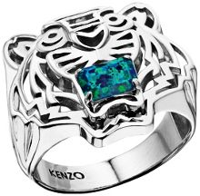Kenzo 26383110205 Sterling Silver Ring