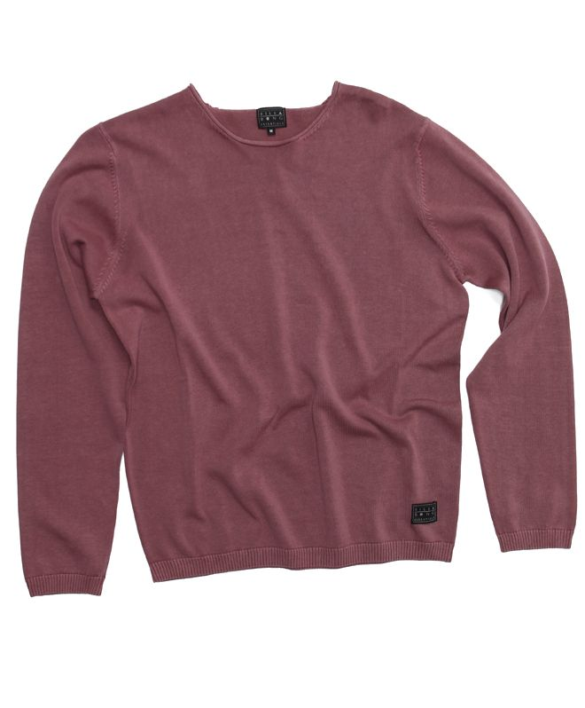 Teflon crew neck sweater