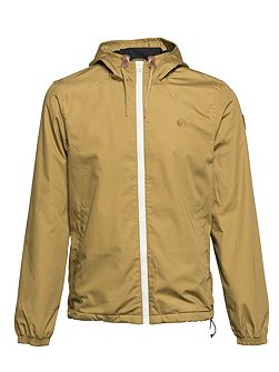 Alder Cotton-Blend Shower Proof Zip Up Jacket