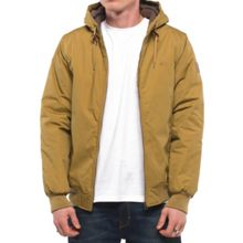 Element Dulcey Cotton-Blend Showerproof Zip Up Jacket