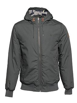Dulcey Cotton-Blend Showerproof Zip Up Jacket