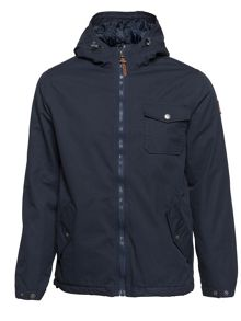 Element Freemont Cotton-Blend Canvas Zip Up Jacket
