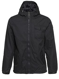 Freemont Cotton-Blend Canvas Zip Up Jacket