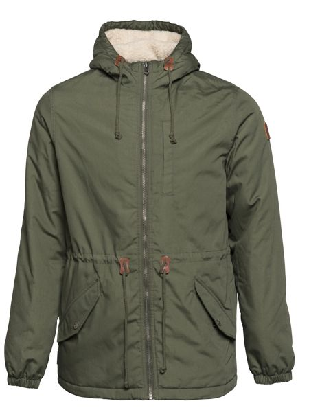 Element Stark Cotton-Blend Fleece-Lined Zip Up Jacket
