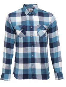 Element Tacoma Yarn Dye Check Flannel Shirt
