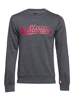 Signature Crew Cotton Blend Creneck Jumper