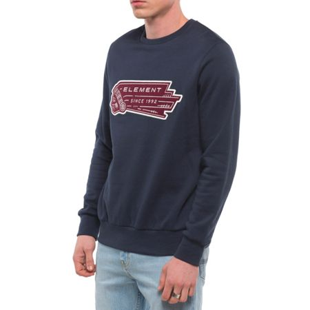 Element Wyatt 100% Cotton French Terry Crewneck Jumper
