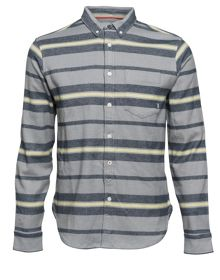 Element Pollock Yarn Dye Stripe Flannel Shirt