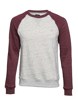 Meridian Crew Cotton-Blend Crewneck Jumper